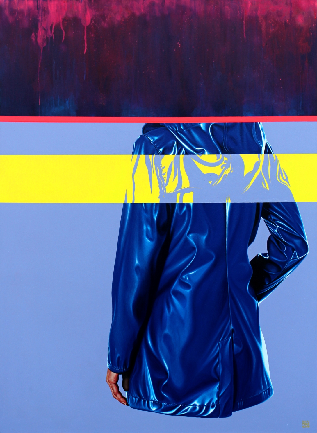 srm untitled raincoat14 150x110cm oct 2019